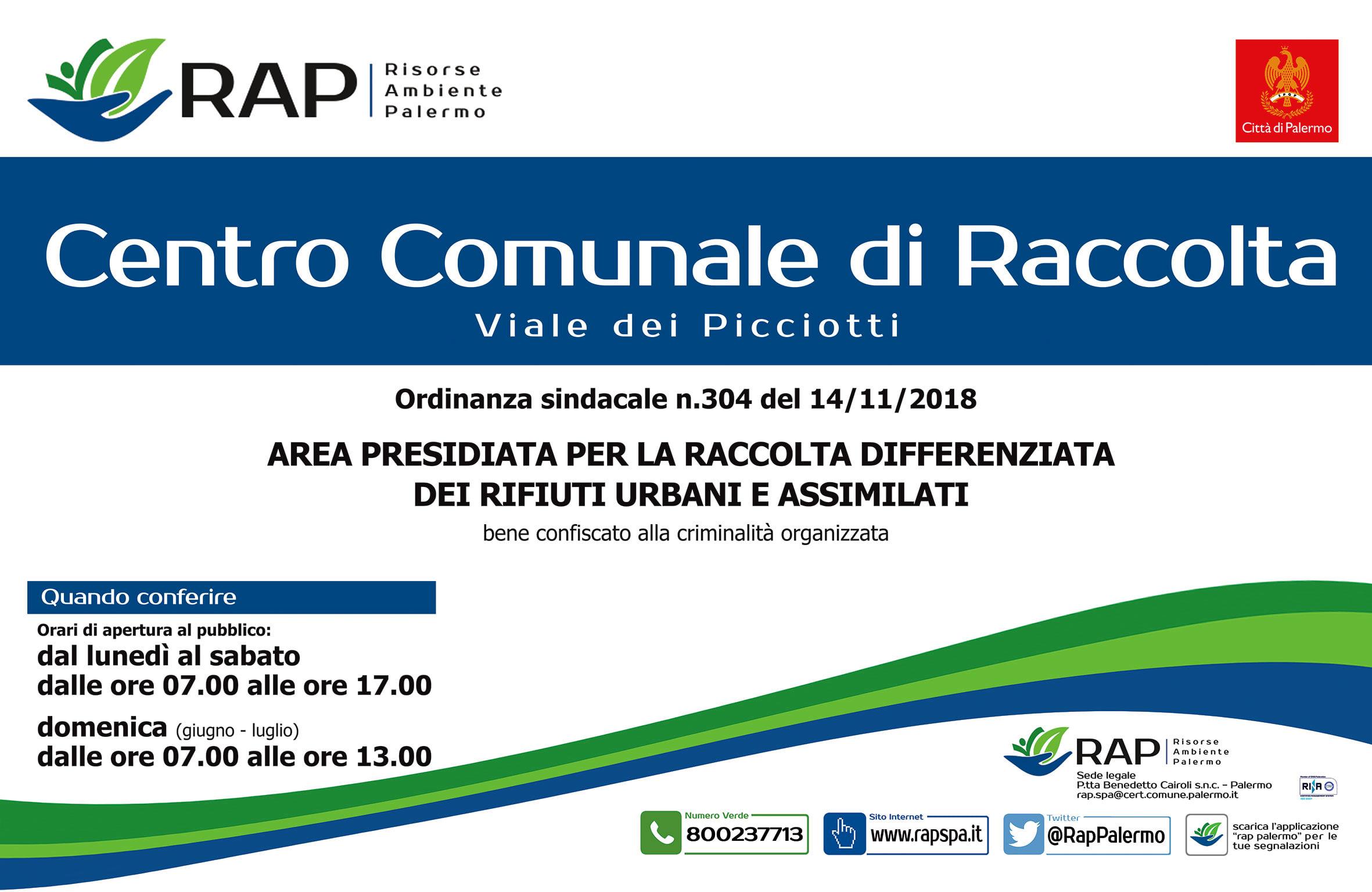 cartello-esterno-ingresso_con-domenica_CCR Picciotti-2