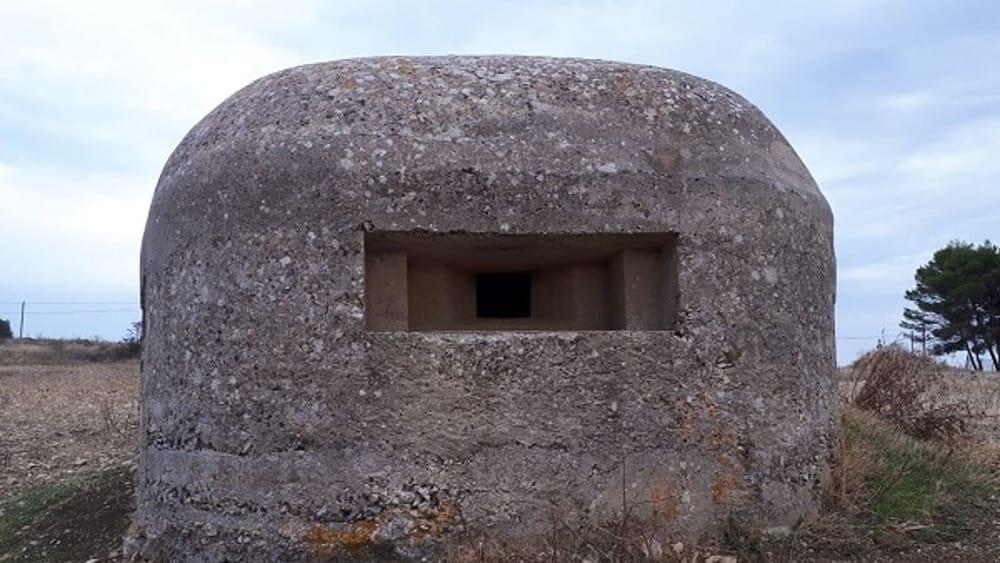 Trappeto Bunker seconda guerra Mondiale-2