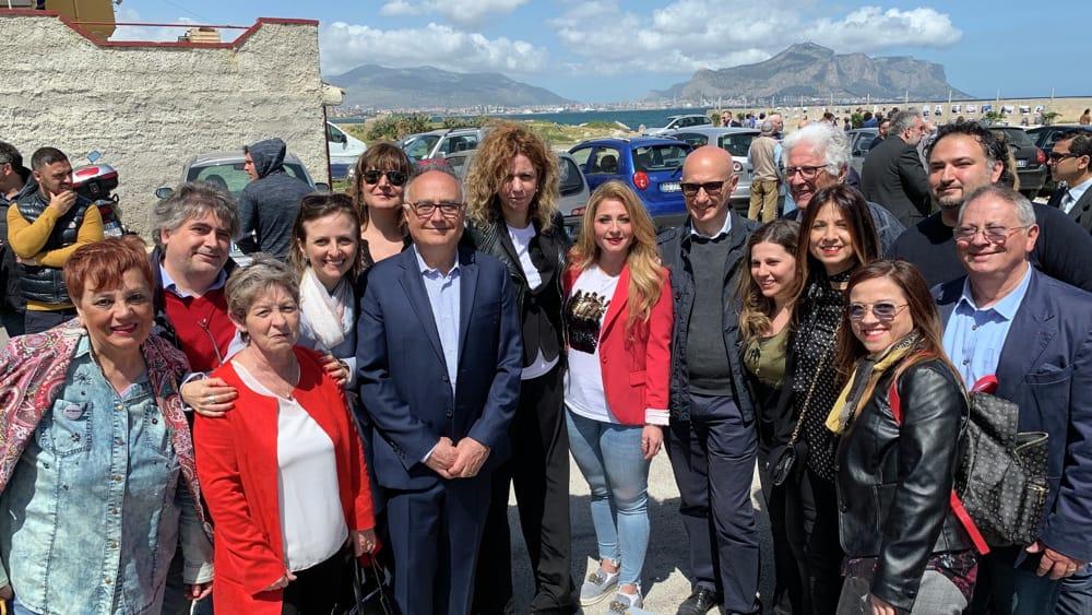 La visita del ministro Lezzi a Palermo-2