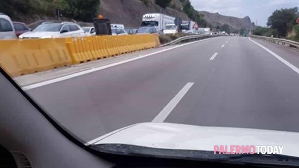 Traffico sulla Palermo-Catania alle 7-3