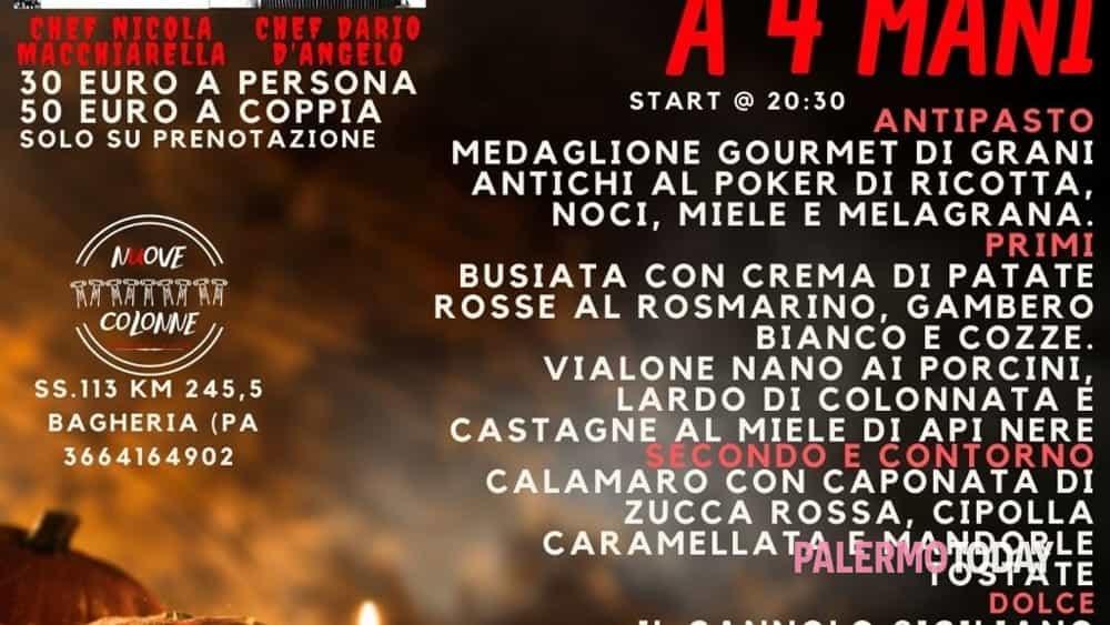cena a 4 mani - halloween night con chef dario d'angelo e chef nicola macchiarella-2