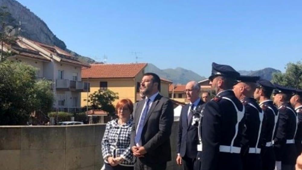 anniversario straage capaci stele Salvini2-2