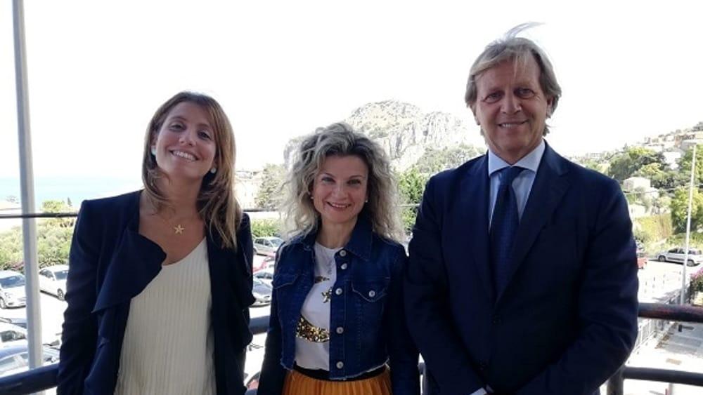 da sx Daniela Salvaggio, Angela Capuana, Giovanni Albano-2
