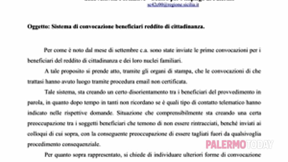 reddito di cittadinanza: patto di servizio -  chi non ha indicato l'indirizzo  e-mail resterà fuori . l'ufficio  mandi anche sms.-2