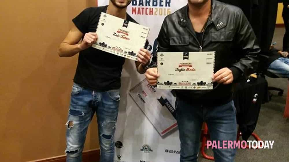 Barber Match Italia 2016, Terzi Classificati D'Italia i fratelli Cusimano -6