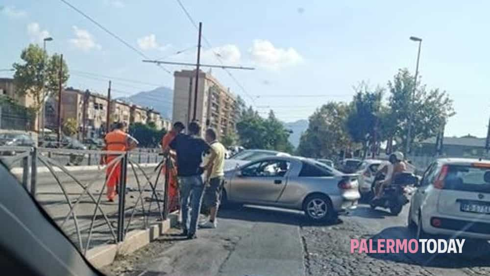Incidente viale Michelangelo 19 agosto 2019-2