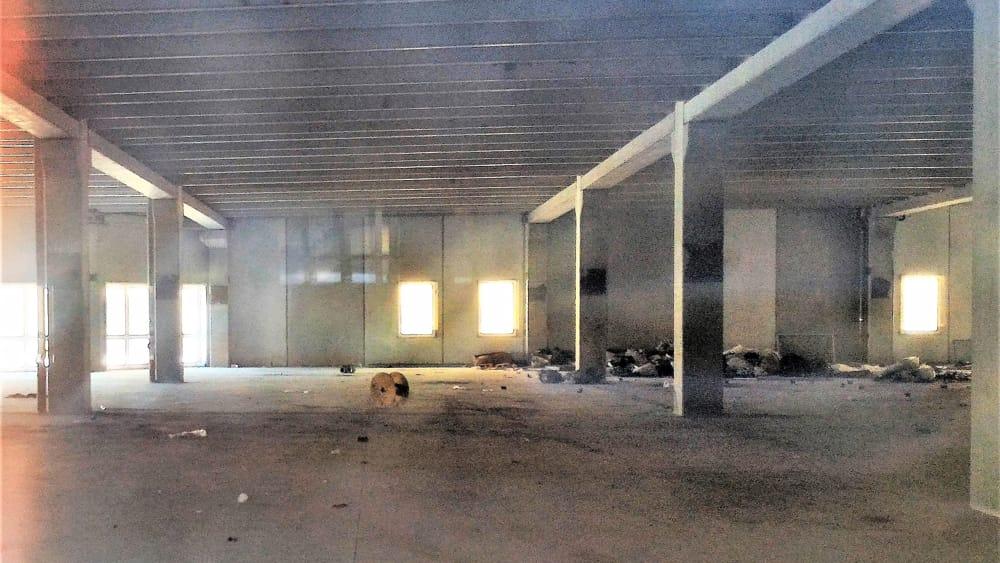 L'interno della palazzina-2