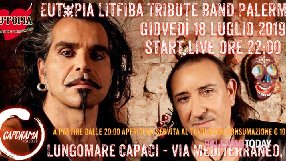 gli eutopia litfiba tribute band live al caporama disco club di capaci. -2