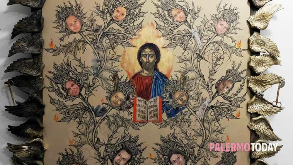 monreale, icone tradizione/contemporaneità: grande mostra con artisti greci e siciliani-9