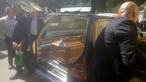 Celebrati i funerali del fratello di Franco Franchi-3