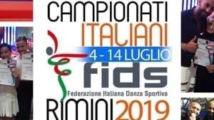 l'asd vulcano latino nikita dance sport ai vertici dei campionati italiani fids 2019-9