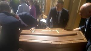 Celebrati i funerali del fratello di Franco Franchi-5