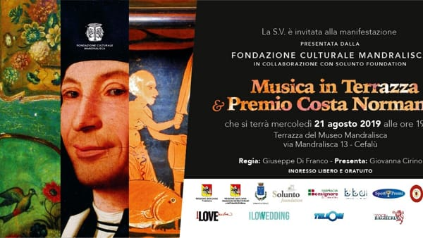 Cefalù, musica in terrazza e premio Costa Normanna al Museo Mandralisca