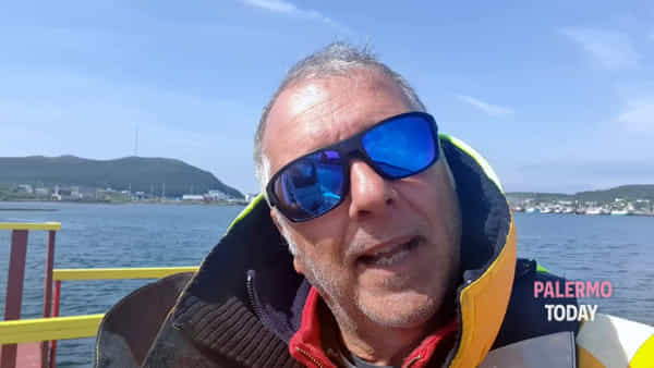 In gommone verso New York, il palermitano Sergio Davì raggiunge le coste canadesi | VIDEO