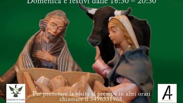 Presepe artistico semovente, a Cinisi una miniatura meccanizzata della Natività