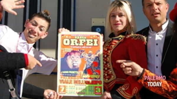 visita a sorpresa del circo greca orfei ai bimbi ricoverati all'ospedale civico di palermo-3
