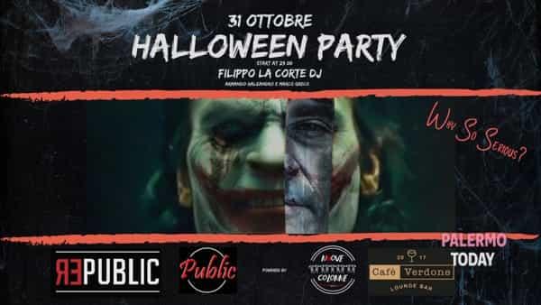 """Festa di Halloween a Bagheria, il selfie più """"scary"""" vince un cicchetto alcolico"""