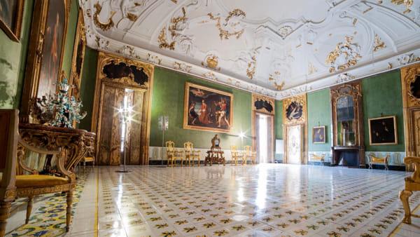 Una notte a palazzo, alla scoperta della dimora storica della famiglia Alliata di Villafranca