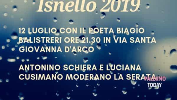 Calici di poesie a Isnello, appuntamento in piazza con lo scrittore Biagio Balistreri