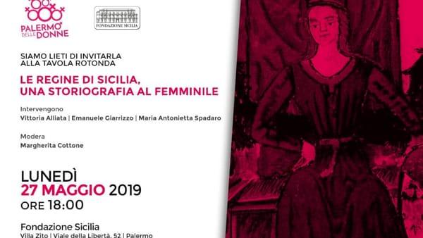 """""""Le regine di Sicilia, una storiografia al femminile"""": tavola rotonda a Villa Zito"""