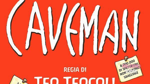 """Caveman"": spettacolo al teatro Savio Teo Teocoli"