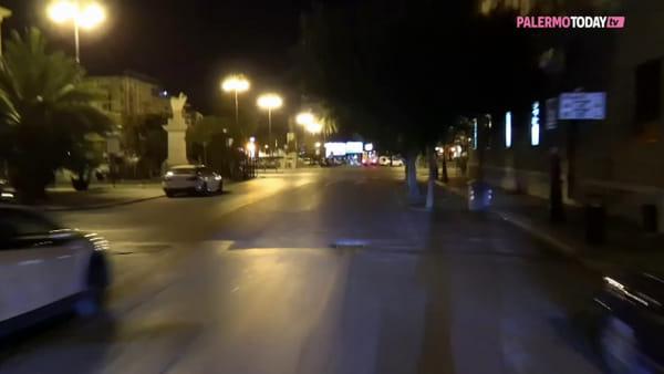 VIDEO | Coronavirus, Palermo deserta di sera: alla fine si asciugarono anche le balate della Vucciria