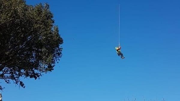 Monte Pellegrino soccorso alpino-2