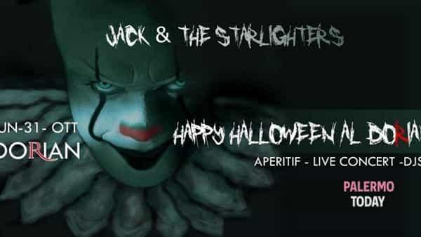 Halloween in rock n'roll con i Jack & The Starlighters al Dorian Art