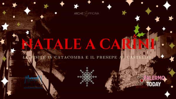 Natale a Carini, visite in catacomba e al castello con il grande presepe vivente