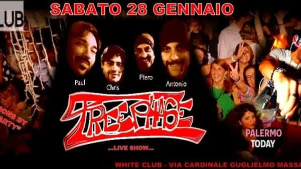 Treephase & dj Dario Caminita al White club