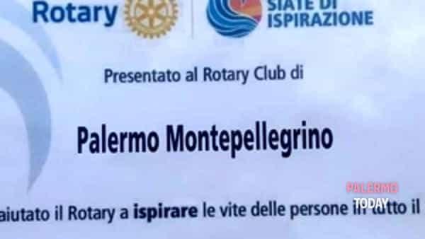 il rotary club palermo montepellegrino riceve l'attestato del presidente internazionale per l'anno 2018-2019-2