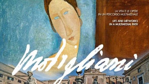 """Modigliani Experience, """"les femmes"""" in versione multimediale in una mostra a Palazzo Bonocore"""