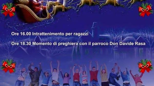 Natale tutti insieme: animazione, tombolata e concerto a Terrasini