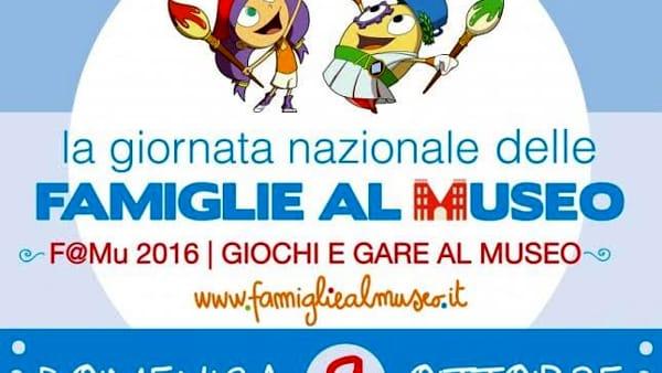 Giornata nazionale delle famiglie al museo, giochi e gare al Mandralisca di Cefalù