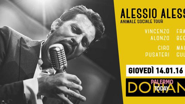 Alessio Alessandra band, Animale sociale tour al Dorian