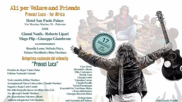 """""""Ali per volare and friends"""", l'evento benefico all'Hotel San Paolo Palace"""
