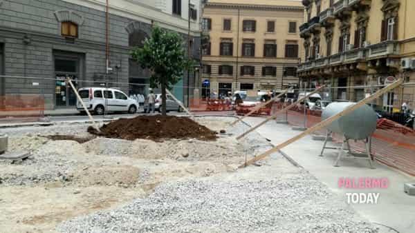 Piazza Bottego risorge dopo diversi lustri di inagibilità.-5