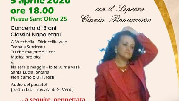 """Da """"A vucchella"""" a """"Io te vurria vasà"""", i classici napoletani in un concerto lirico"""