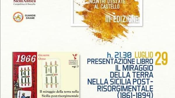 """""""Il miraggio della terra nella Sicilia post-risorgimentale"""", la presentazione al Castello di Roccella"""