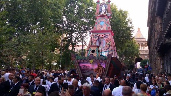 Festino 2019, la lunga sera della Santuzza: dallo spettacolo in Cattedrale ai fuochi d'artificio