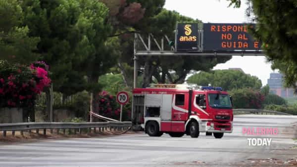Allarme per una fuga di gas, viale Regione chiuso al traffico: circolazione in tilt | VIDEO