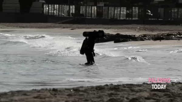 Mondello silenziosa e solitaria, l'altro fascino della borgata d'inverno | VIDEO