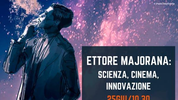 Scienza, cinema e innovazione: ai Cantieri il convegno dedicato a Ettore Majorana