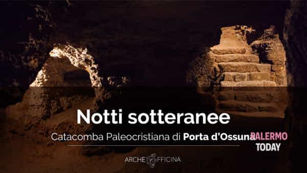 Notti sotterranee, apertura straordinaria serale alla Catacomba Porta d'Ossuna