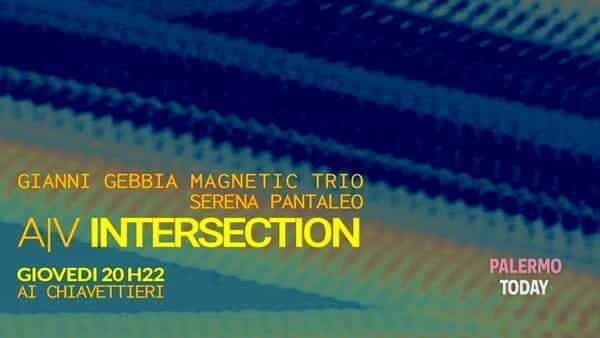 Il live di Gianni Gebbia magnetic trio, il visual di Serena Pantaleo: il giovedì ai Chiavettieri