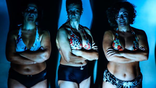 """Sul palco nude senza alcuna censura, allo Spazio Franco lo spettacolo con tre """"curvy"""""""