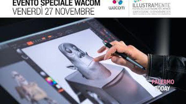 Illustramente 2015: Wacom, l'icona per artisti digitali ai Cantieri Culturali