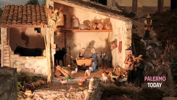 Natale 2016, presepe artistico semovente a Cinisi