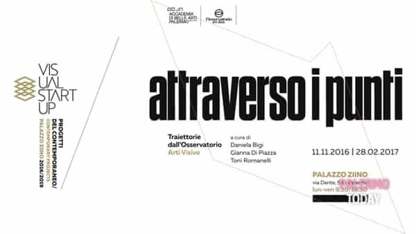 """""""Attraverso i punti traiettorie dall'osservatorio arti visive #01"""", la mostra a palazzo Ziino"""