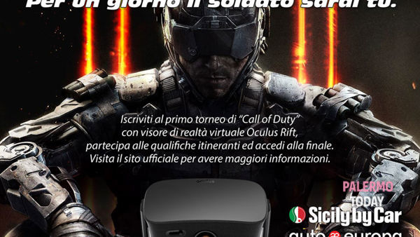 Intro tour vrlab. il 1° torneo di Call of duty a Villa Ermes